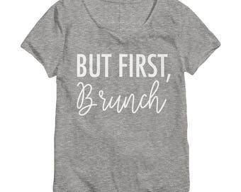 Brunch Shirt - Brunch Shirts - Brunch Shirts Women - Brunch Life Shirt - Slouchy Tee - Slouchy Shirt - Funny Brunch Shirt - Graphic Tee 022