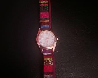 Ethnic bracelet watch
