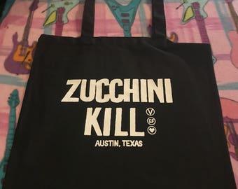 Zucchini Kill Tote Bag