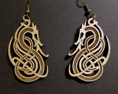 Nordic Dragon Earrings