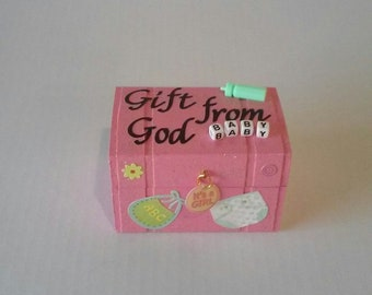 Gift from God keepsake box