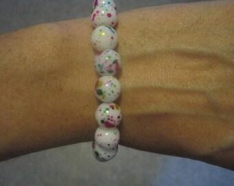 80's Metallic Color Splash Stretch Bracelet