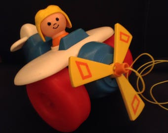 Fisher Price Pull Plane