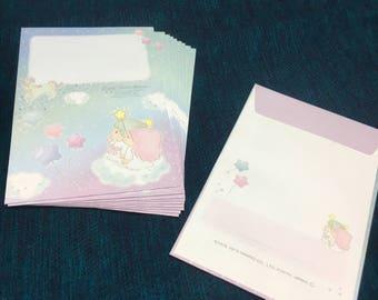 Little twin stars unicorn design envelope 10pcs from japan