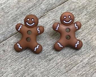 Gingerbread Earings