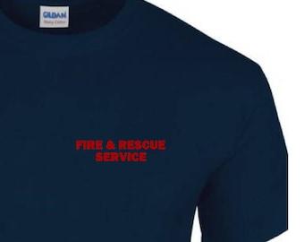 Fire & Rescue Services Tshirt - UKFRS - Fire brigade