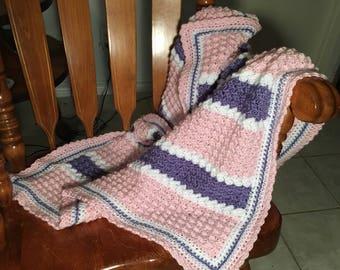 Crochet Baby Girls blanket
