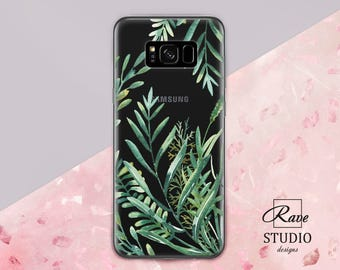 greenery Cute Galaxy s8 case Cute s8 case watercolor greenery Samsung case Samsung s8 case Galaxy s8 case Galaxy s8 plus case Samsung note 8