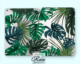 Tropical leaves Plant cover Greenery decor iPad air 2 cover iPad pro 12 9 iPad mini 4 case iPad air cover iPad hard cover Mini iPad iPad 9 7