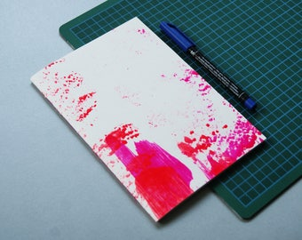 A5 sketchbook - journal - notebook - sketchbook with drawings