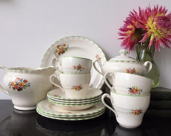 A Part Tea Set made by Sol, J&G Meakin, England