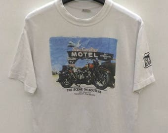 CLEARANCE SALE /// 20% Vintage The Scene on Route 66 T-Shirt