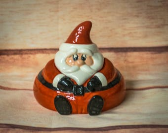 Kiss Santa Candy Dish