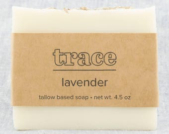 Lavender Soap / handmade soap / bar soap / cold process soap / natural soap / essential oil soap / mild soap