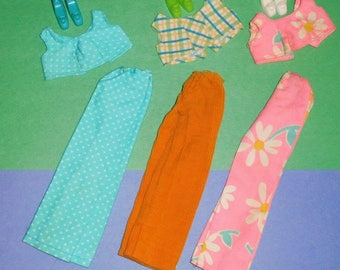 Vintage Barbie Cool Casuals #0030 - 3 variations Color Magic Ridinghood & Ruffle
