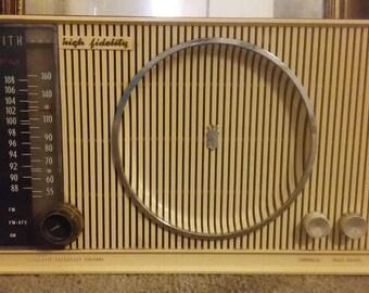 1959 zenith c845m  high fidelity am/fm radio