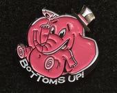 Pink Elephant Enamel Lapel Pin
