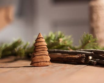 USB flash drive Christmas tree made of wood