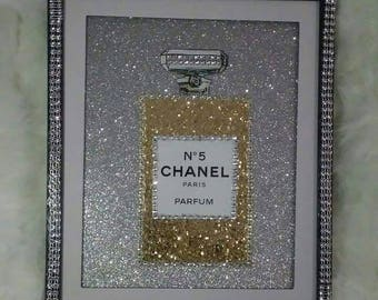 8x10 Chanel picture picture and frame