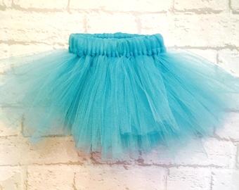 Girls tutu, tutu, ballet tutu, blue tutu, tutu, first birthday outfit, baby girl tutu, ballet tutu, baby tutu, toddler tutu,
