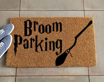 Harry Potter Doormat/Custom Doormat/Custom Welcome Mat/Personalized Doormat/Personalized Welcome Mat/Door Mat/Harry Potter Decor