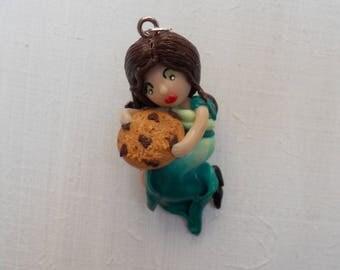 Pendant: Princess cookies (fimo)