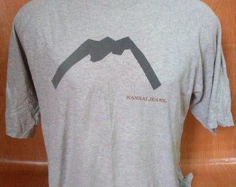 Vintage Kansai Jeans Tshirts Kansai Yamamoto Tshirts Kansai Japan
