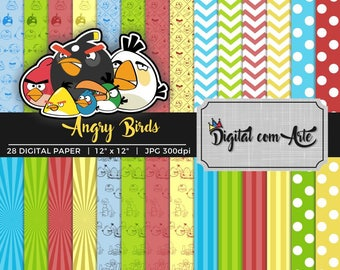 Angry Birds Digital Paper