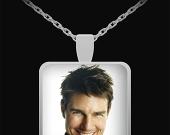 Tom Cruise Silver Necklace