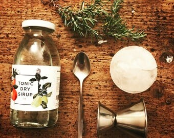 """Tonic """"Dry"""" Syrup - 250ml // * Shipped from the beginning of September 2017 *"""