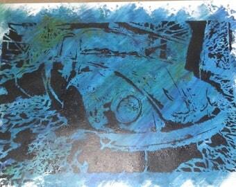 Rusty Punch Buggy (dark blue)