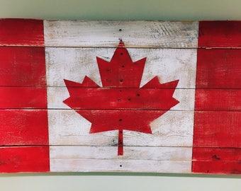 Canadian Pallet Flag