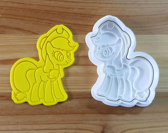 My Little Pony - Apple Jack Cookie Cutter and Stamp