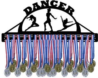 DANCER Female Awards Medal Hanger Display