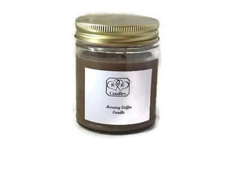 Soy Wax Candle Morning Coffee Scented