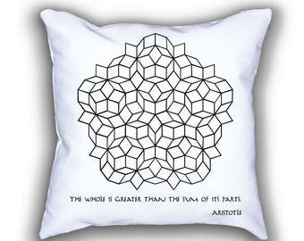 Penrose Tilling and Aristotle pillows