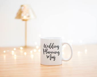 Wedding Planning Mug- Engagement Gift- This is my Wedding Planning Mug- Bride To be Mug- Bridal Gift- Engagement Mug- Engagement Cup