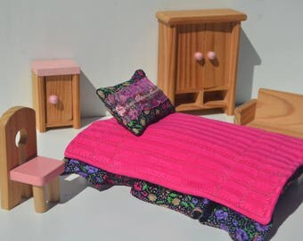 Bed set for Doll house