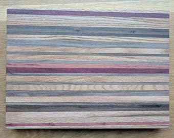 Exotic wood cutting board, one of a kind