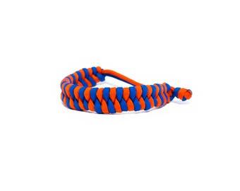 Paracord Survival Bracelet / Fishermans Friend / Fishtail Braid