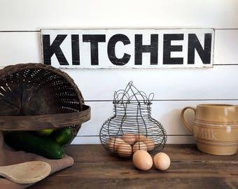 Farmhouse Kitchen Sign  | Farmhouse Decor | Wood Signs | Kitchen Sign | Fixer Upper | Primitive Sign | Rustic Sign