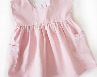 The Grace Dress   Made to Order   Pedal Pink   Spring/Summer Dress