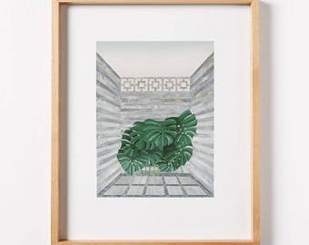 Pocket Attention - limited edition print by Cam Edward