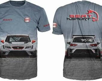 New ultramodern 3D  High Quality Seat  short sleeve Men's T-shirt