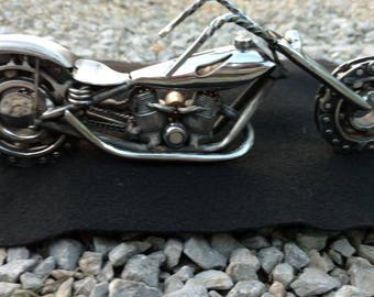 Metal art weld art motorcycle