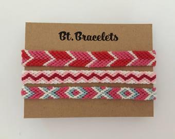 Bracelets pink 4.00