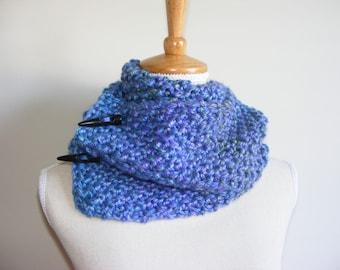 Ocean Blue Scarf / versatile infinity scarf/cowl