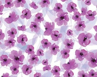 Clothworks Spring Meadow by Barb Tourtillotte - 100% Cotton - Sold by the Yard