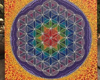 Flower's Life Mandala