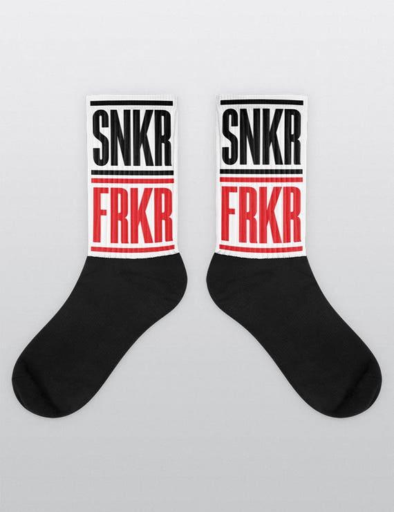 SNKR FRKR | Unisex Cotton Blend Socks